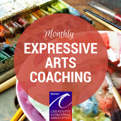 Monthly Expressive Arts Individual Coaching in Bend, Oregon
